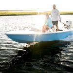marsh skiff