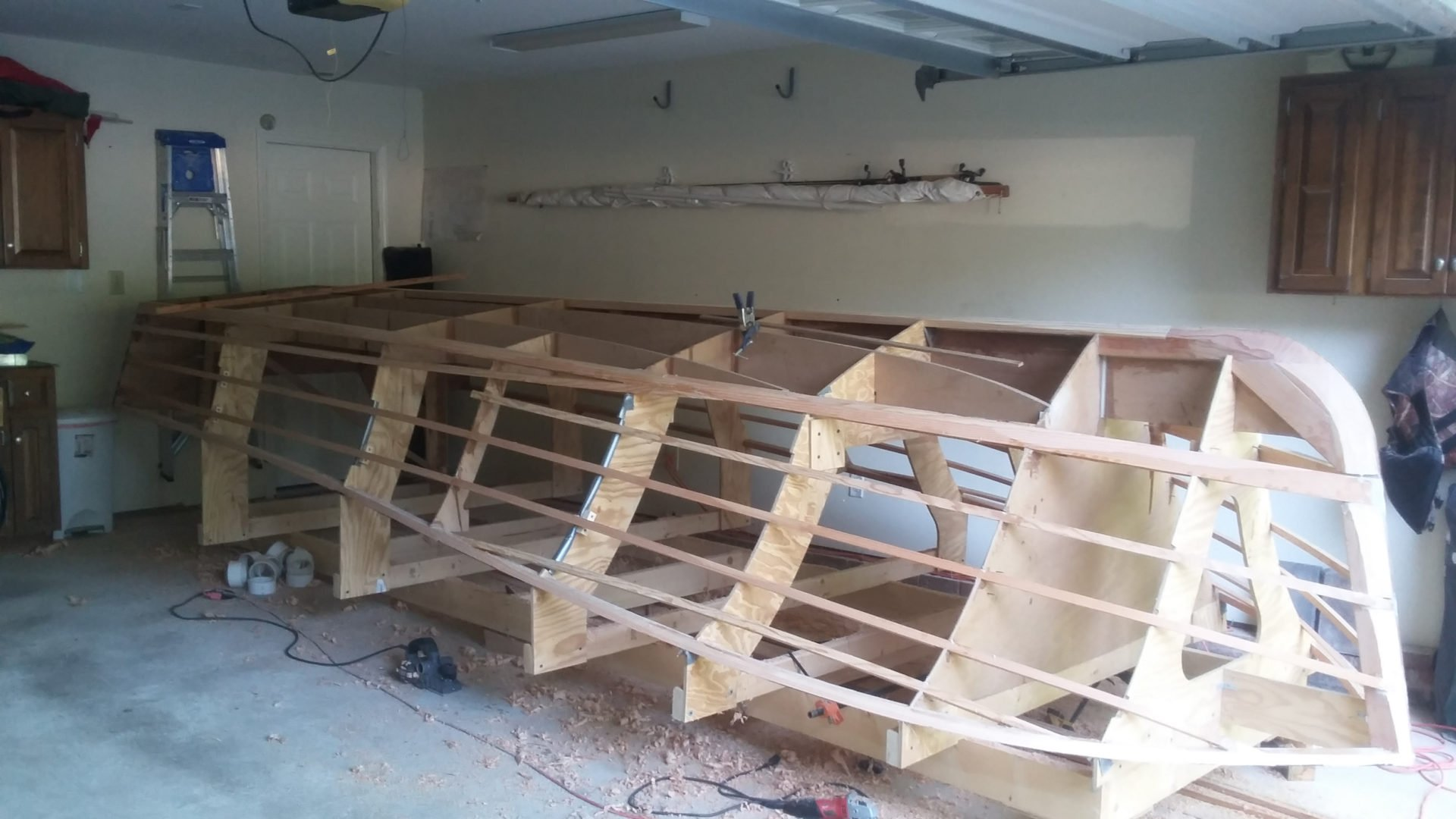 cold mold boat jig