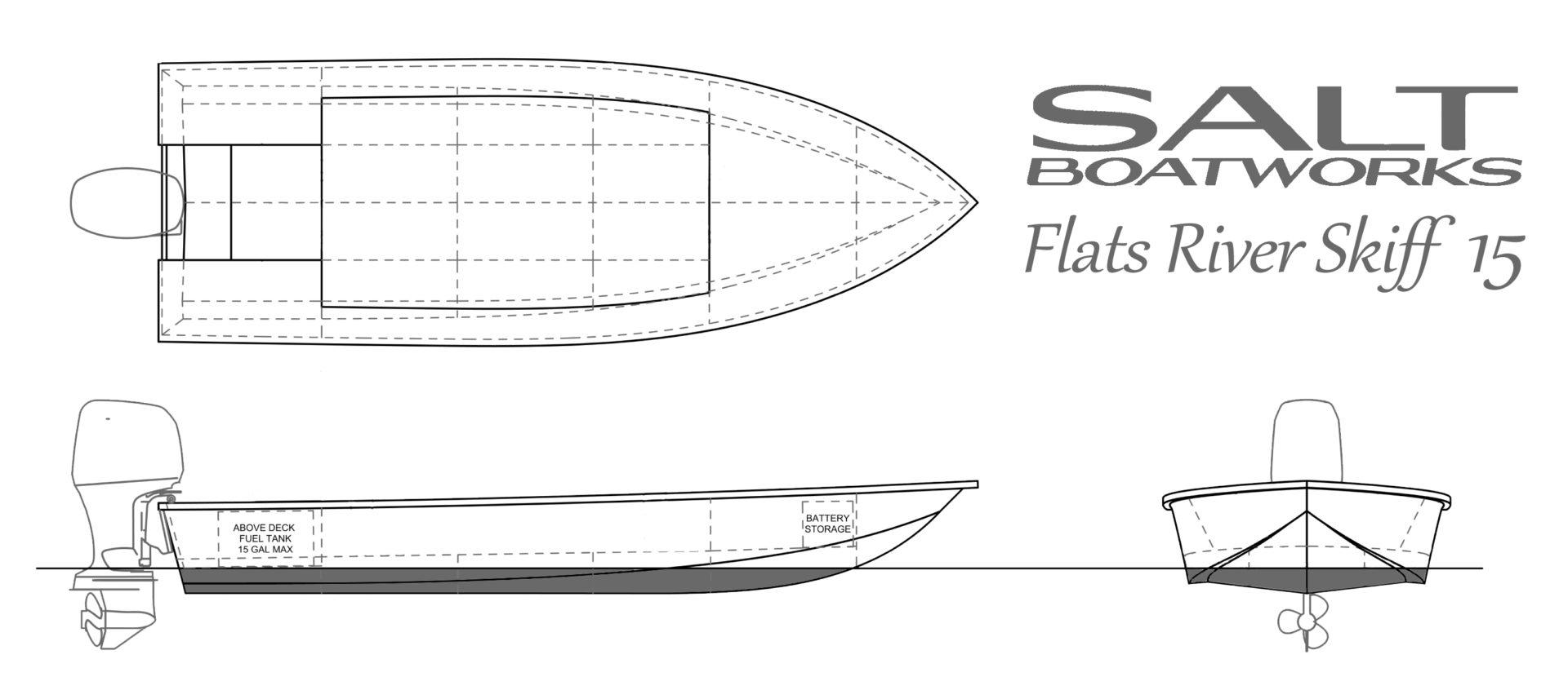 Flats Skiff 15