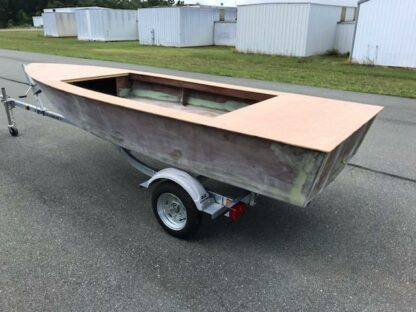 microskiff boat build